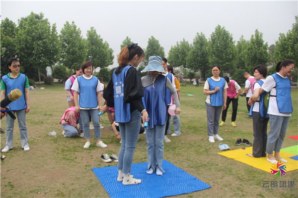 合肥全天拓展训练|美年体检拓展活动